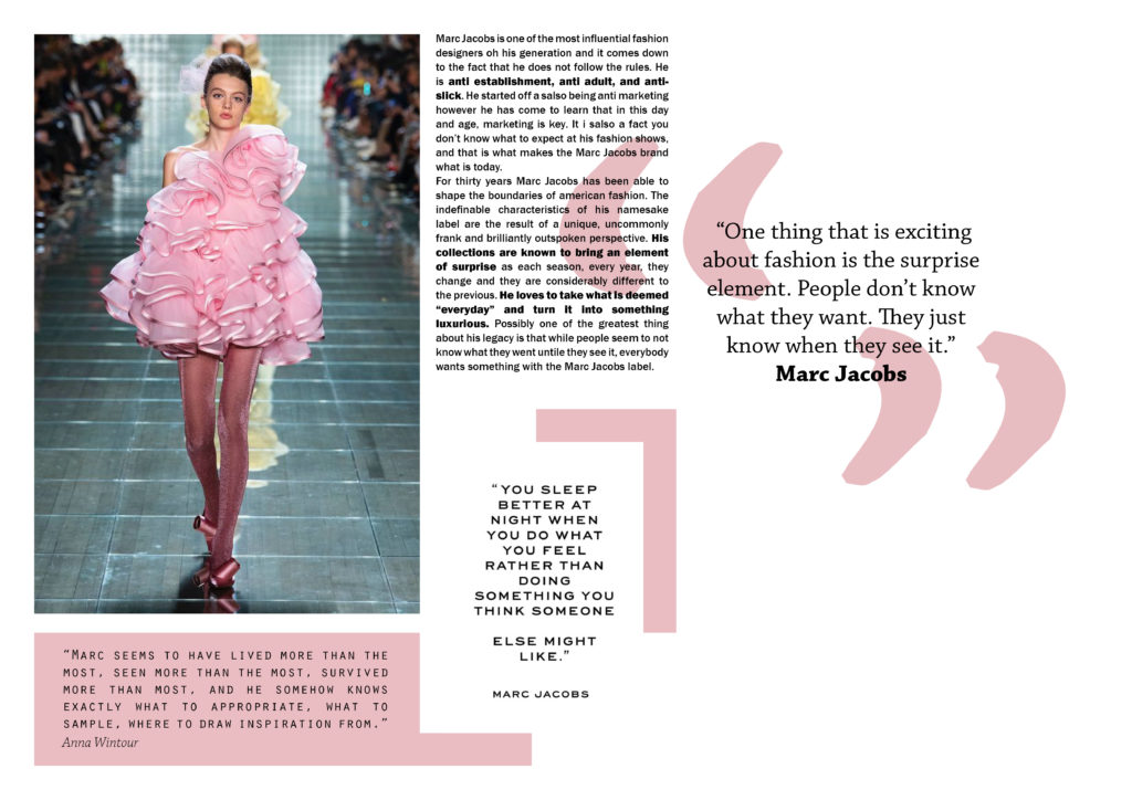 Marc Jacobs Brand Analysis
